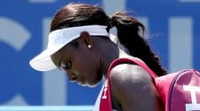 Sloane Stephens, world's No. 8 tennis player, upset at Citi Open