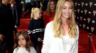 Denise Richards cries talking about daughter Eloise's health issues