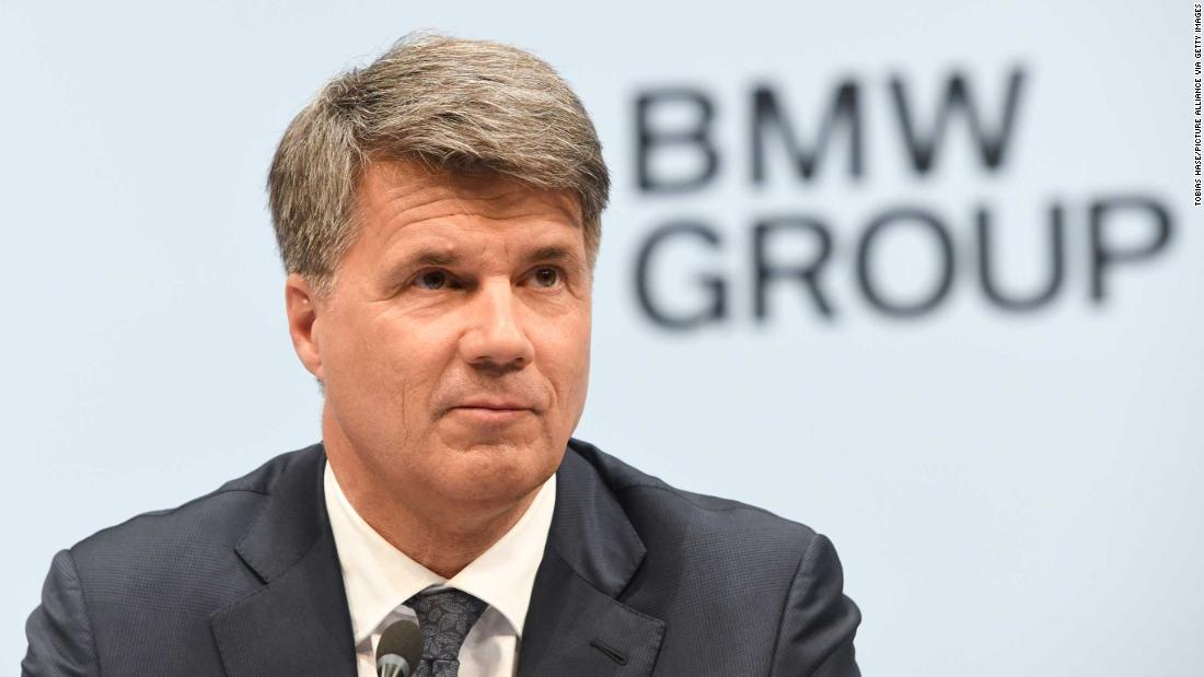 BMW CEO Harald Krueger is stepping down