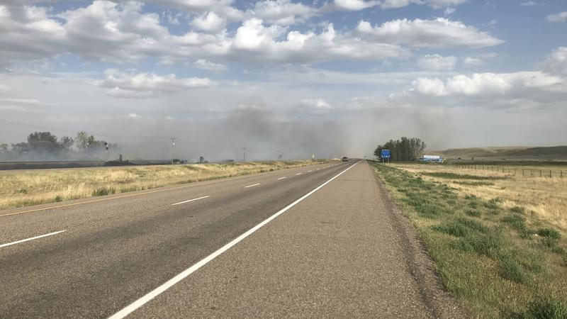BREAKING: Cypress County issues state of emergency after grassfires near Walsh, Irvine | CHAT News Today| Medicine Hat, Southern Alberta