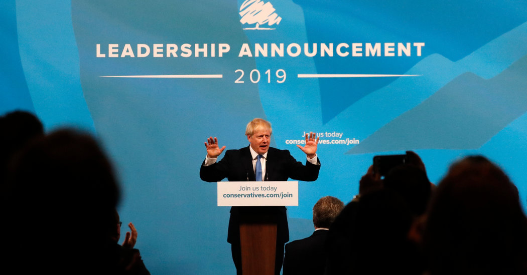 Boris Johnson to Be U.K. Prime Minister After Winning Party Vote