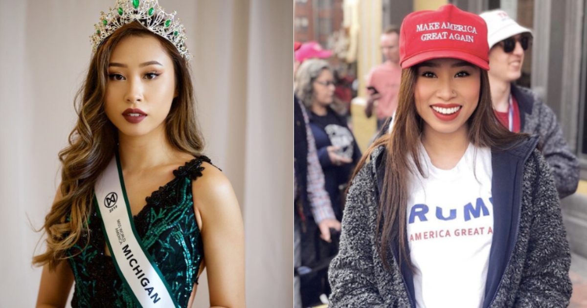 Ex Miss Michigan: Kathy Zhu joins Trump reelection campaign after being losing crown and bring stripped of title