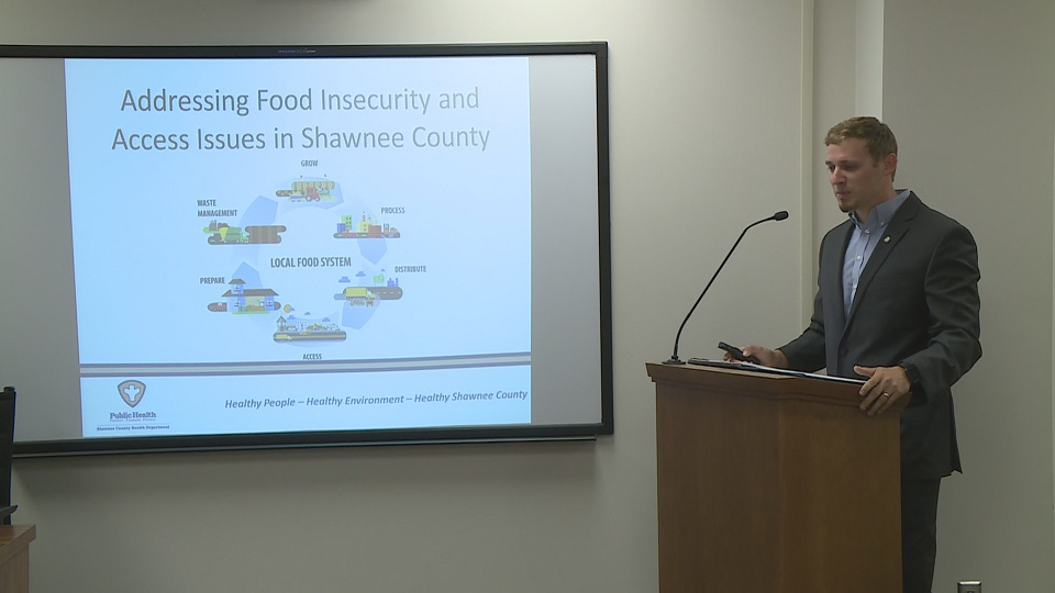 Shawnee Co. Health Dept. seeks help to address food insecurity issues