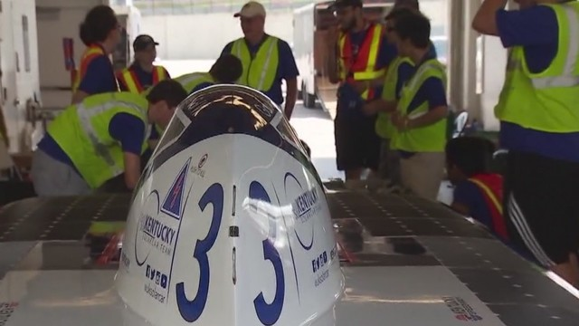 College students from across the country are in Austin to push the limits of solar technology - Story