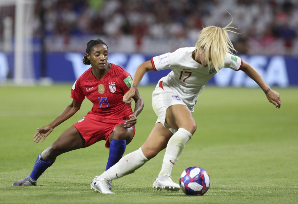 Crystal Dunn is getting it done for U.S. at World Cup