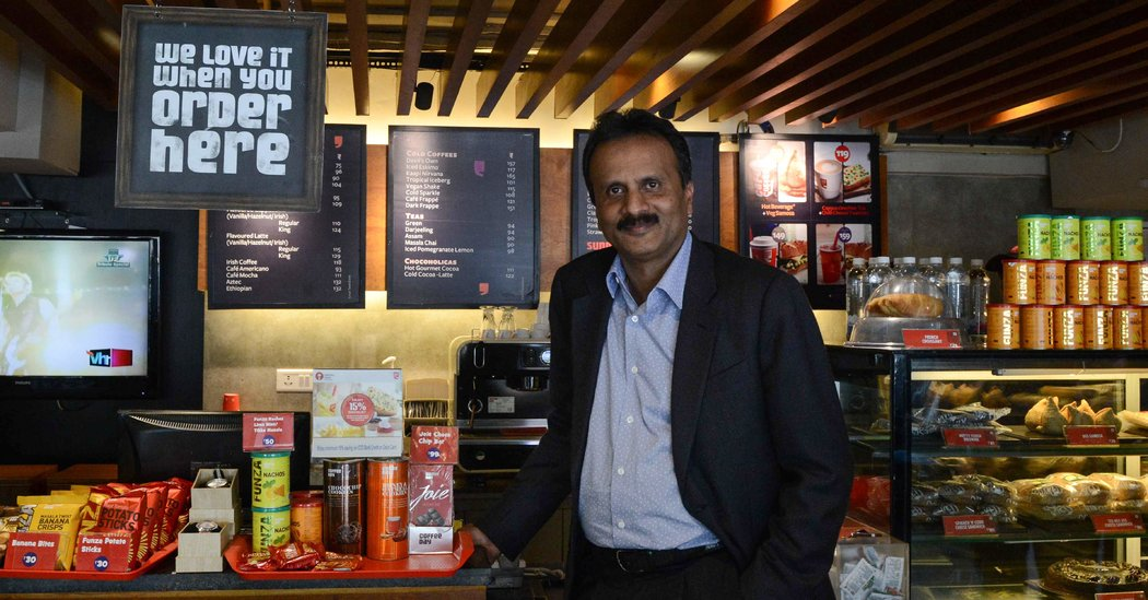 India's 'Coffee King' Found Dead Amid Financial Troubles