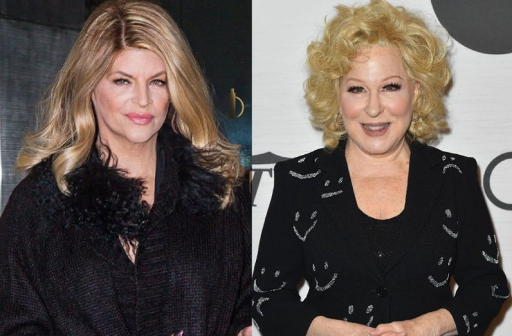 Kirstie Alley accuses Bette Midler of 'pure and real racism'