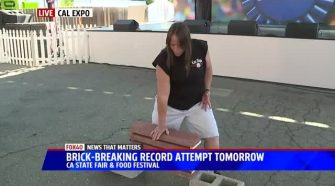 Martial Artist to Attempt New Brick-Breaking World Record