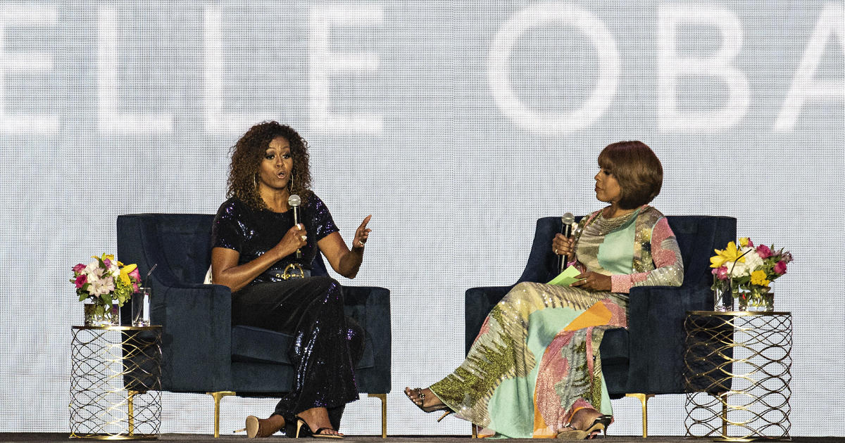 Michelle Obama interview: Gayle King exclusive talks to former first lady at Essence Festival today -- live stream