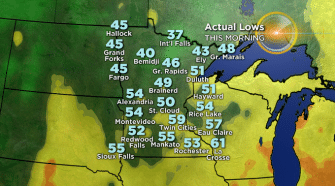 Minnesota Weather: Temperatures Dip To 37 Degrees In International Falls, Breaking 121-Year-Old Record – WCCO