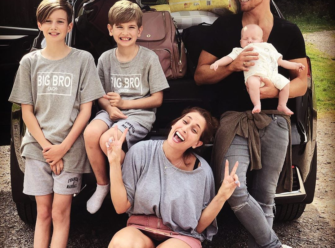 Stacey Solomon quits social media 'for a few days' for a technology detox as she enjoys family life with baby Rex