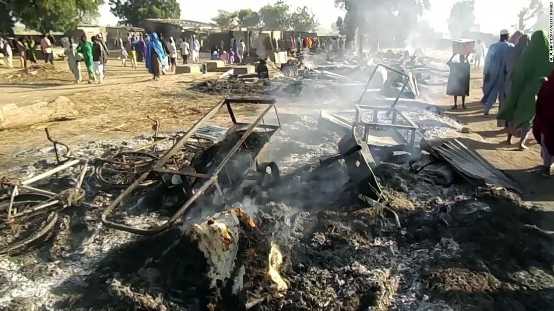 Nigeria: Suspected Boko Haram attack leaves at least 65 people dead, officials say