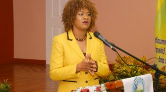 Ayanna Webster-Roy, MP for Tobago East.