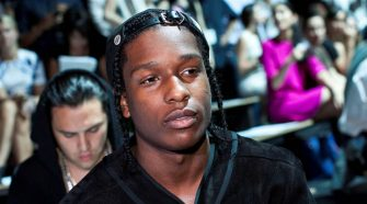 Rapper A$AP Rocky charged with assault in Sweden