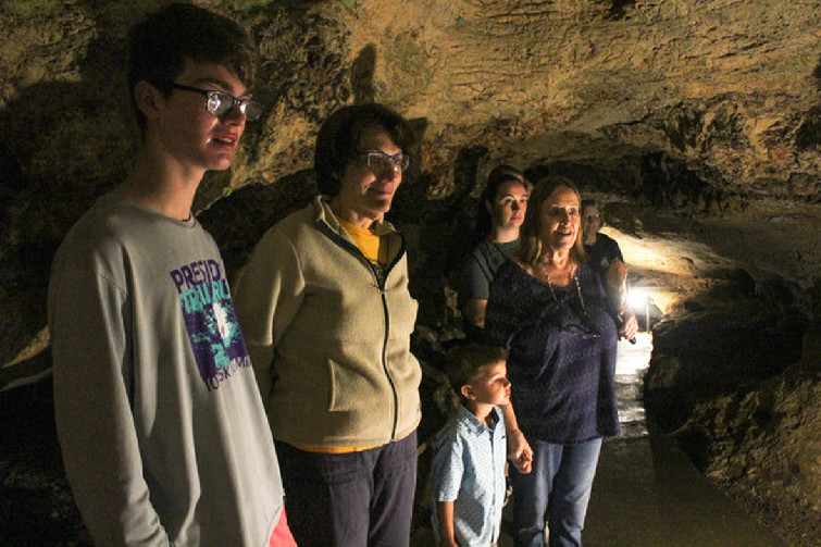 Runge cave experience offers break from summer heat