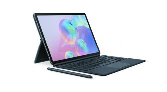 Samsung Galaxy Tab S6 press renders surface, reveals first keyboard cover with integrated trackpad