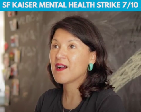 Kaiser workers prepare for strike over mental-health staffing