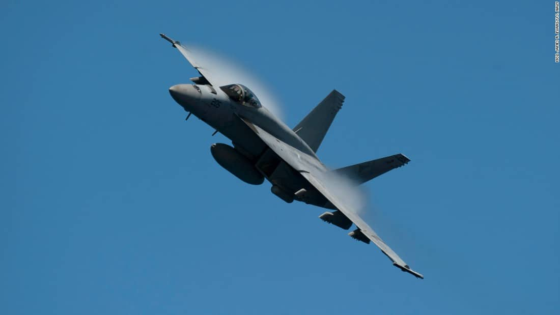 US Navy F/A-18 has crashed in California