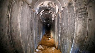 'Underground terror tunnel dug from Gaza into Israel' discovered, military says