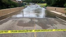 Water Main Break Floods Street, Disrupts Service in Edison