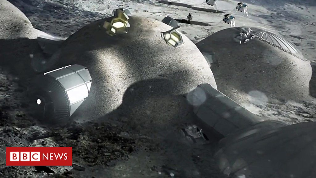Why 3D printing could be key to a Moon base