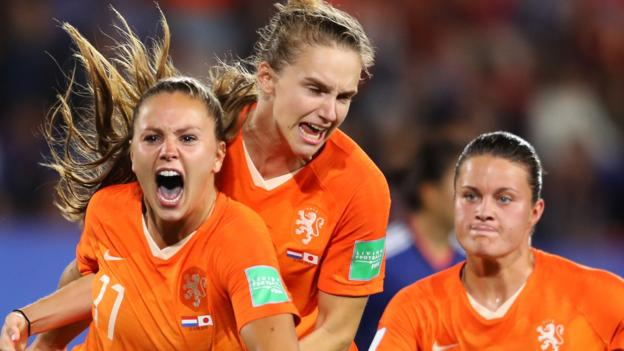 Women's World Cup: Vivianne Miedema says Netherlands 'did not expect' to be in semi-final