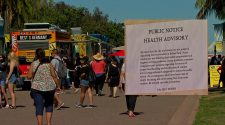 Mystery Sign Warns of Food Vendor Health Hazards at Balboa Park