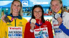 Canada's Maggie MacNeil storms onto world swim stage