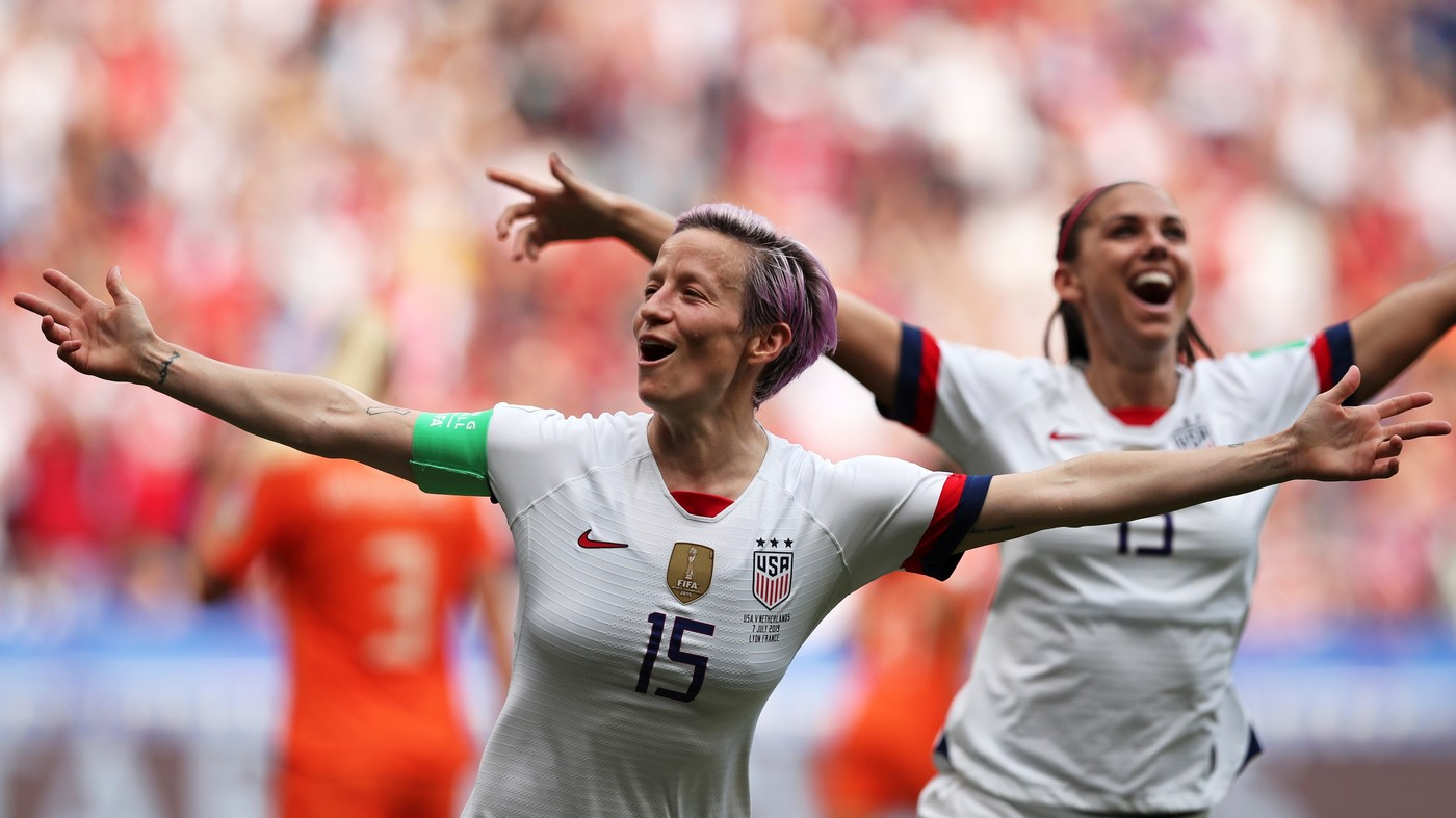 Women's World Cup Magnificence. U.S. Women win fourth title. : NPR