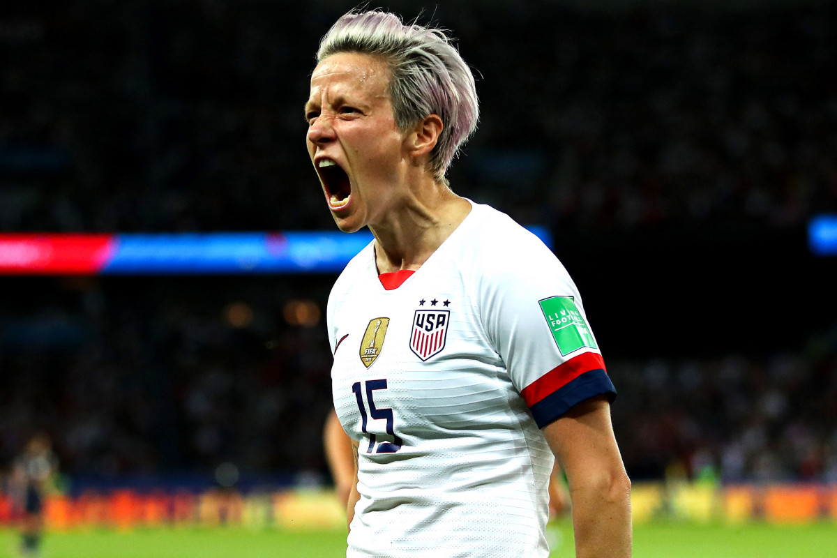 Megan Rapinoe sits in USWNT's stunning World Cup decision