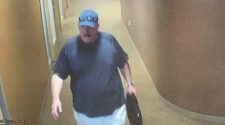 Theft suspect targeting multiple health care facilities throughout the state