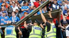 Rangers disabled fans chief 'inches from breaking neck' during Kilmarnock shelter collapse
