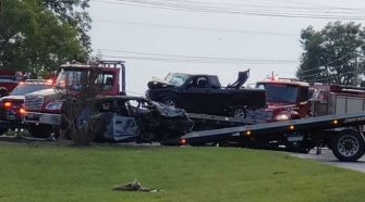 BREAKING: Police working accident on Hwy 80