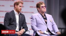 Elton John defends Harry and Meghan's use of private jets