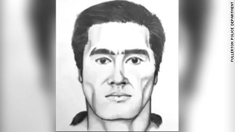 Fullerton Police released a sketch of a man believed to the suspect in the fatal stabbing.