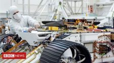 Mars mission readies tiny chopper for Red Planet flight