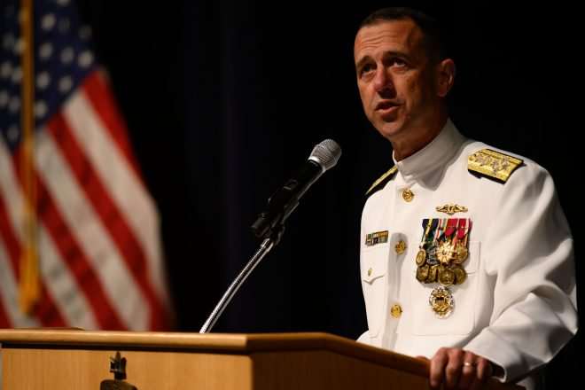 CNO Richardson Reflects on Massive Technology, Readiness Changes as Tenure Ends