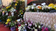 People from all over the world are sending flowers to an El Paso shooting victim's funeral