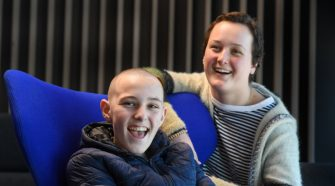 Between chemo, Felicity, 16, designs 'game-changer' technology