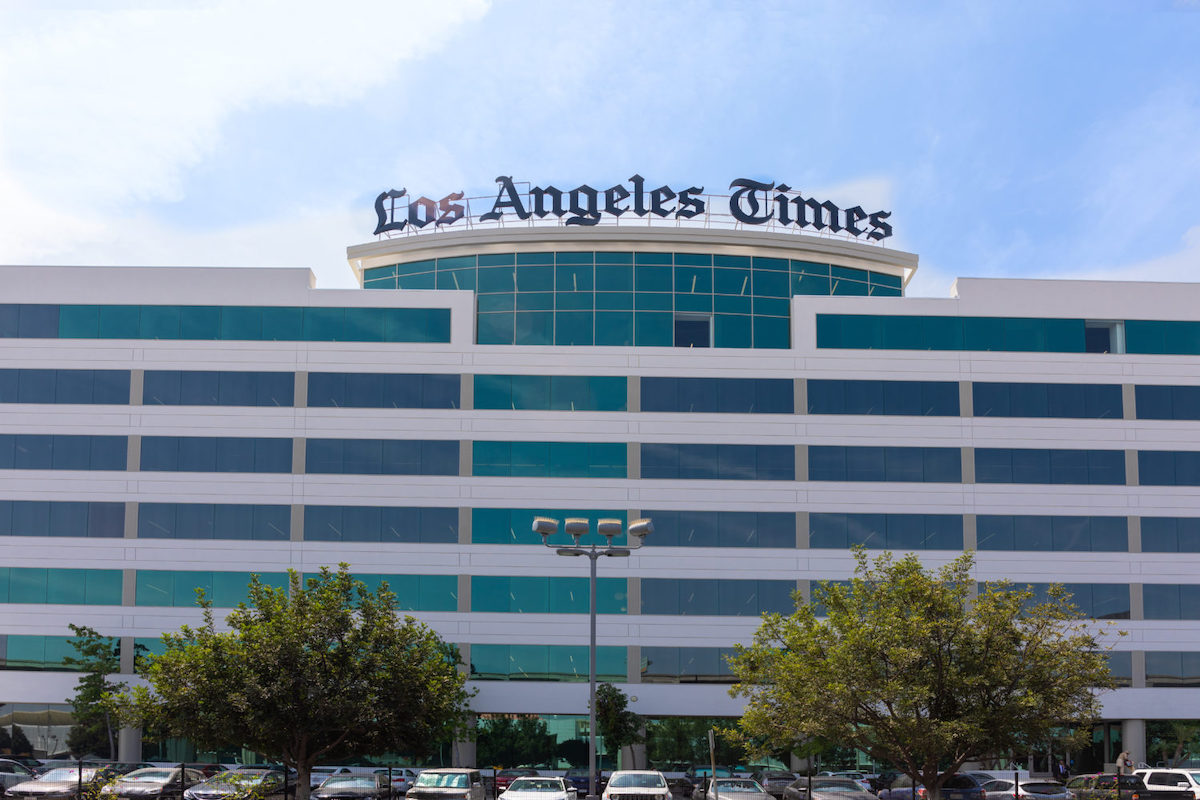 Breaking: Los Angeles Times editors host meeting to address staff anger and concerns over memo