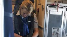 Drunk flight attendant arrested after passing out on US flight
