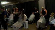 Cosmetology students from Academy of Careers and Technology offer free haircuts