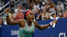 Gauff wins Open debut; Stephens suffers upset