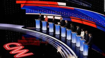 Here's who has qualified for the September debates so far
