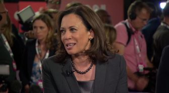 Harris on Gabbard's attack: Of course I'm going to take hits