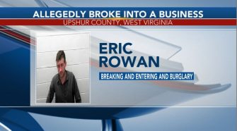 Man arrested after allegedly breaking into business