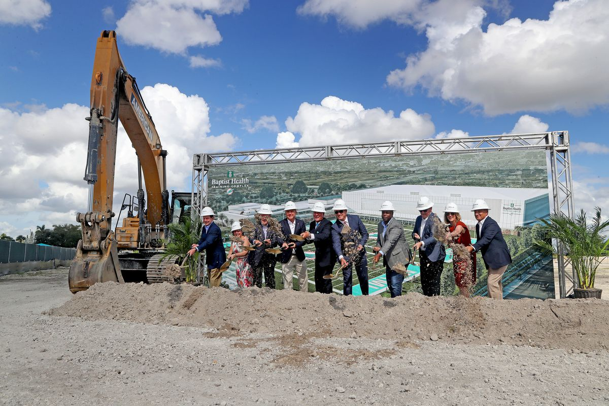 Miami Dolphins break ground on new $135 million state-of-the-art training complex