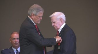 94-year-old former World War II bomber pilot from Rock Hill receives high honor