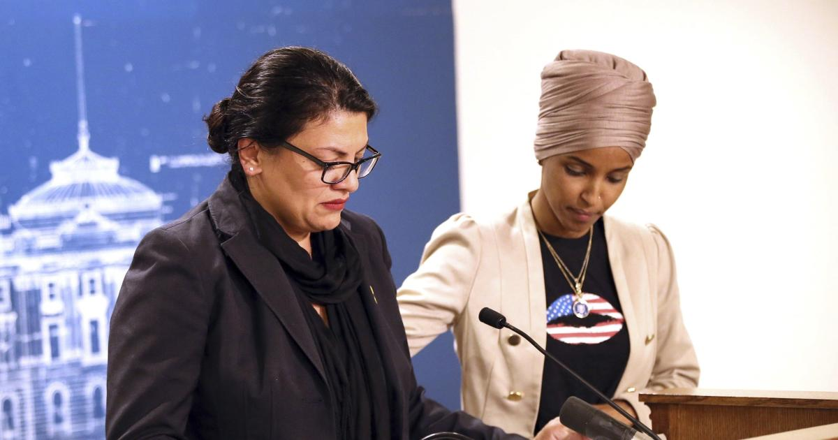 Rashida Tlaib and Ilhan Omar hold press conference on scrapped Israel trip — live stream