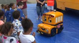 New school bus technology to keep kids safe
